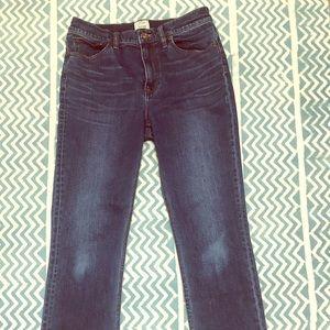 JCREW Billie Demi Boot jeans